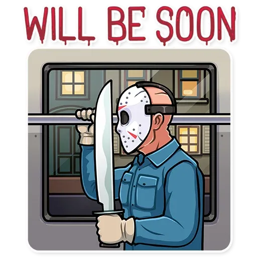 Friday 13th - Sticker 10