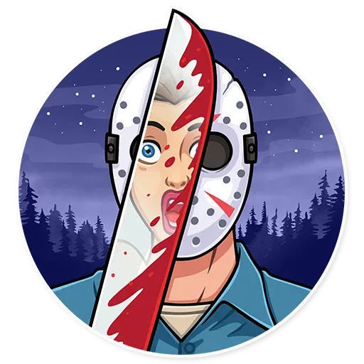 Friday 13th - Sticker 4