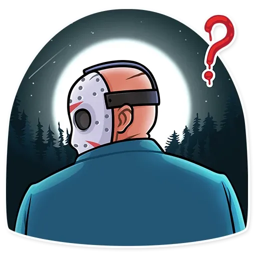 Friday 13th - Sticker 14