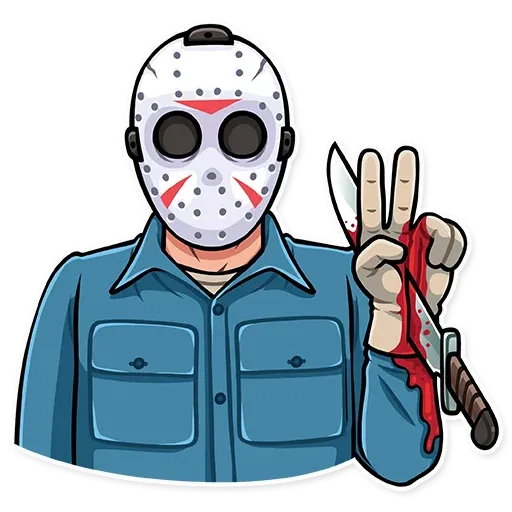 Friday 13th - Sticker 30