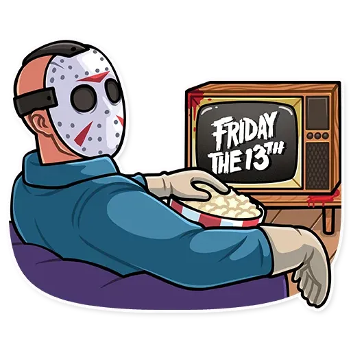 Friday 13th - Sticker 26