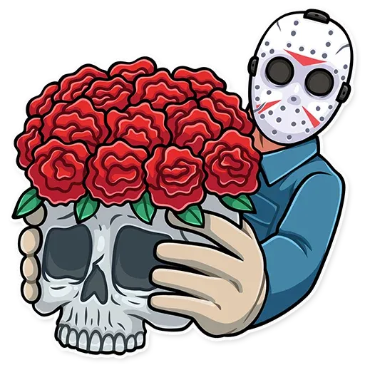 Friday 13th - Sticker 20