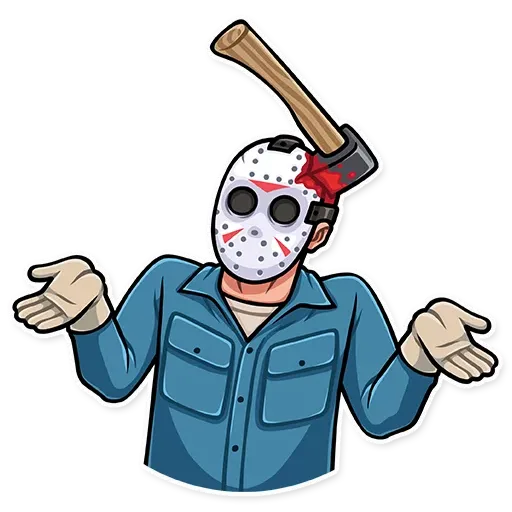Friday 13th - Sticker 12