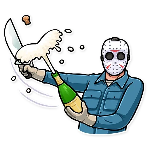 Friday 13th - Sticker 24