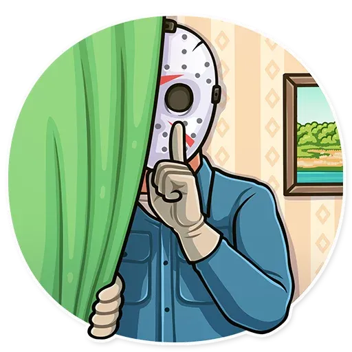Friday 13th - Sticker 11