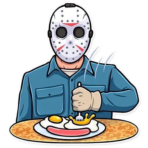 Friday 13th - Sticker 8