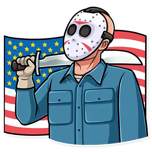 Friday 13th - Sticker 29
