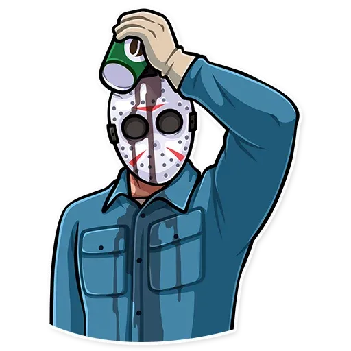 Friday 13th - Sticker 23