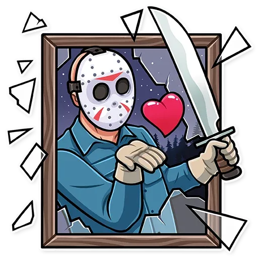 Friday 13th - Sticker 3