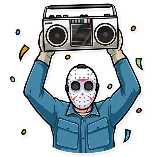 Friday 13th - Sticker 17