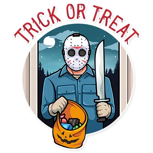 Friday 13th - Sticker 5