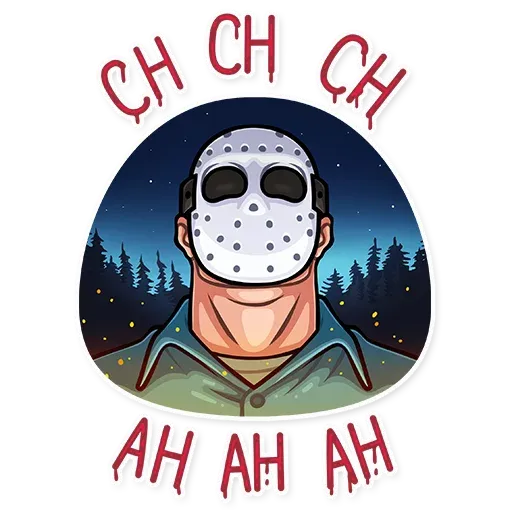 Friday 13th - Sticker 27