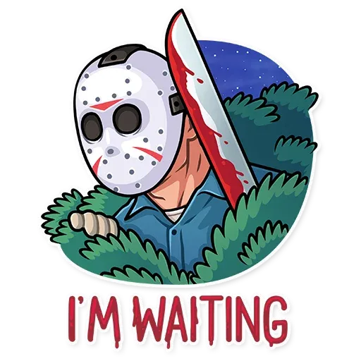 Friday 13th - Sticker 7
