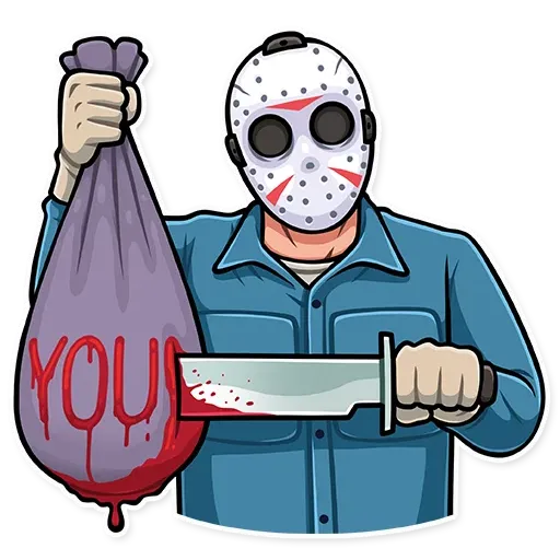 Friday 13th - Sticker 25