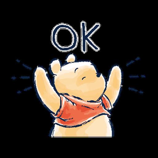 POOH ONE - Sticker 5