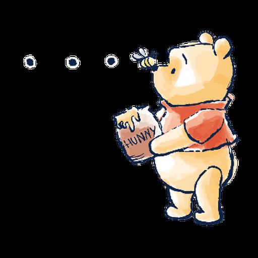POOH ONE - Sticker 4