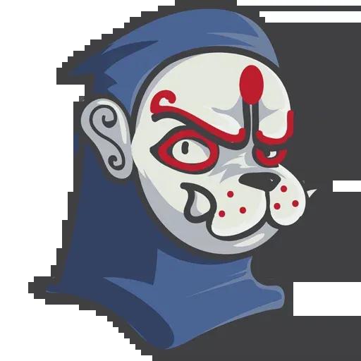 The Art Of War Masks - Sticker 2