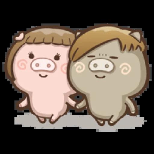 肥寶與肥帥 - Sticker 8