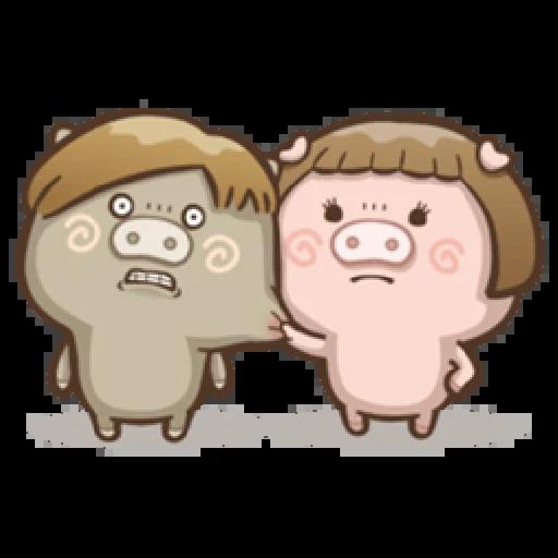肥寶與肥帥 - Sticker 14