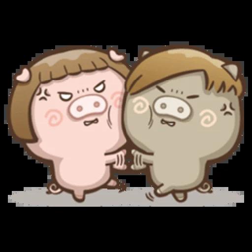 肥寶與肥帥 - Sticker 24