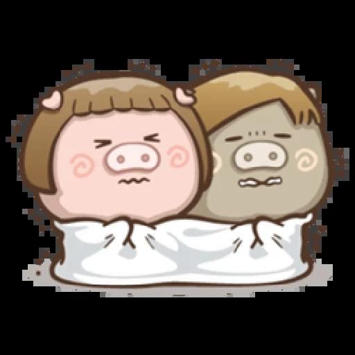 肥寶與肥帥 - Sticker 5