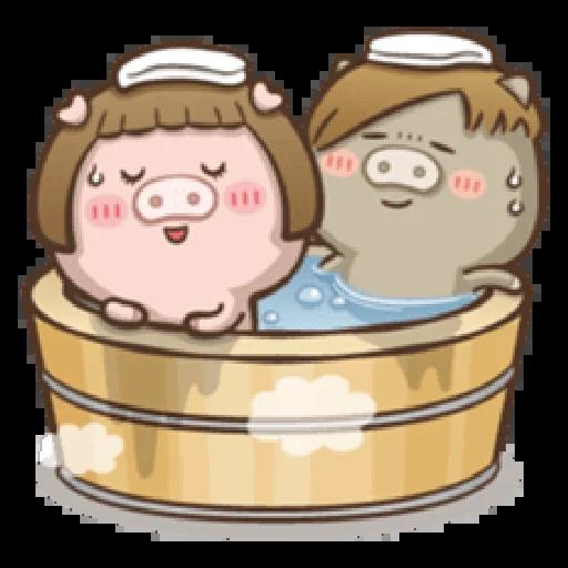 肥寶與肥帥 - Sticker 16