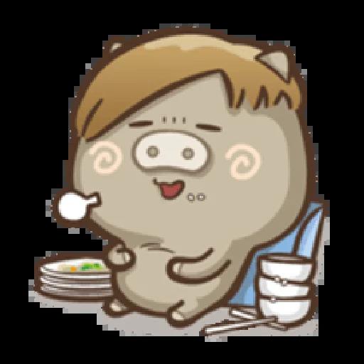 肥寶與肥帥 - Sticker 26