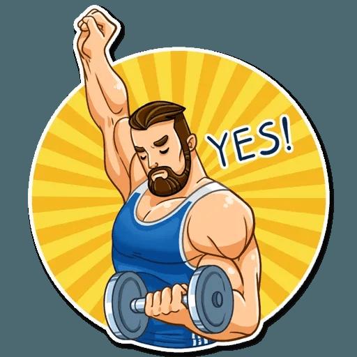 Sport guy - Sticker 9