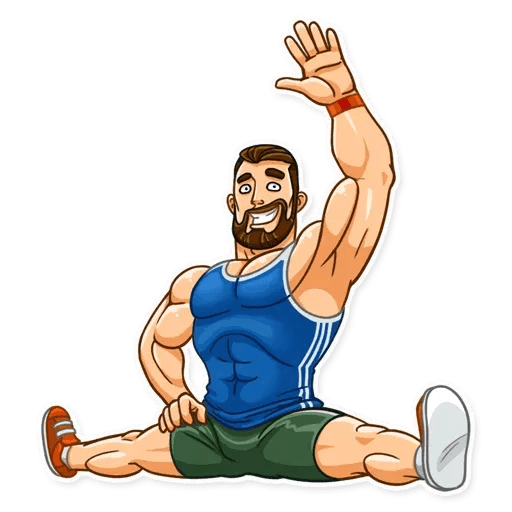 Sport guy - Sticker 5