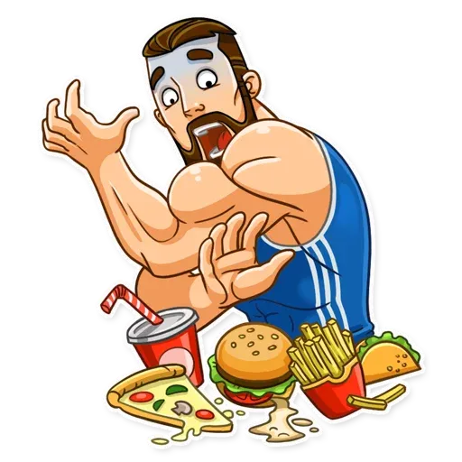 Sport guy - Sticker 3