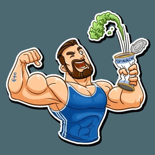Sport guy - Sticker 11