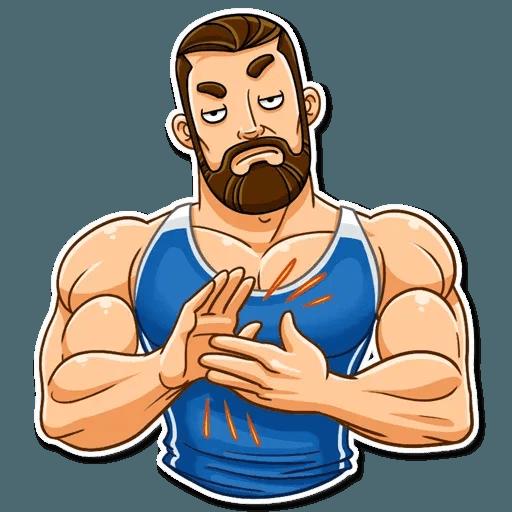 Sport guy - Sticker 14