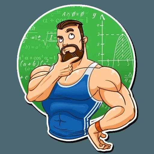 Sport guy - Sticker 8