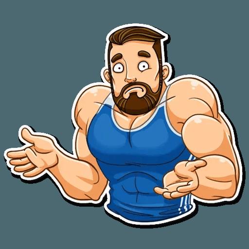 Sport guy - Sticker 6