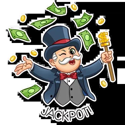 Don Monopolio - Sticker 15