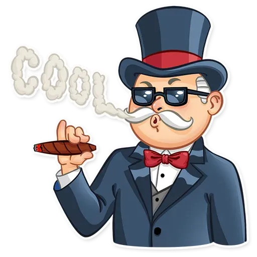 Don Monopolio - Sticker 3