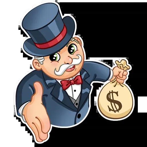 Don Monopolio - Sticker 5