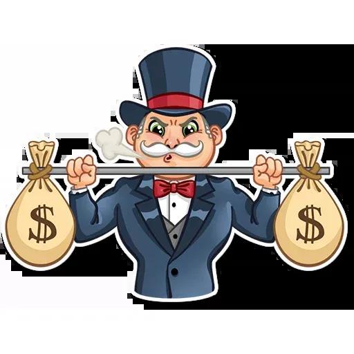 Don Monopolio - Sticker 28