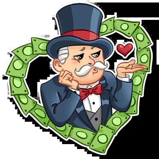 Don Monopolio - Sticker 2
