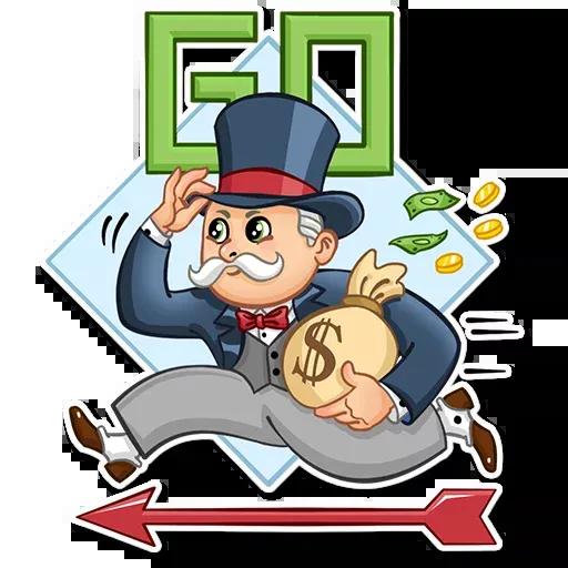 Don Monopolio - Sticker 10