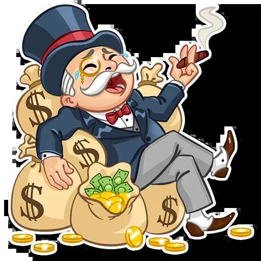 Don Monopolio - Sticker 1