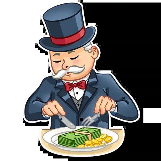 Don Monopolio - Sticker 29