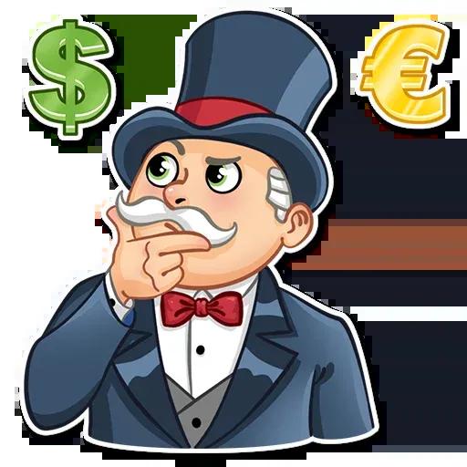 Don Monopolio - Sticker 22