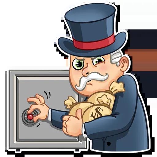 Don Monopolio - Sticker 16