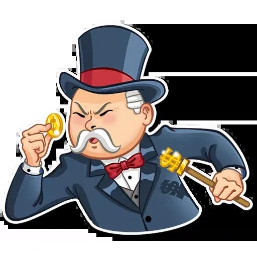 Don Monopolio - Sticker 14