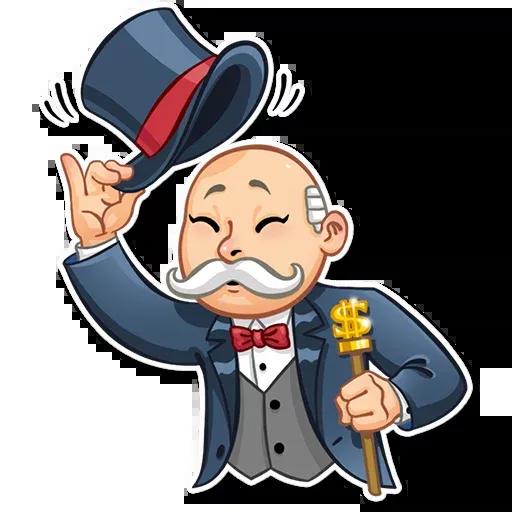 Don Monopolio - Sticker 27
