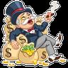 Don Monopolio - Tray Sticker
