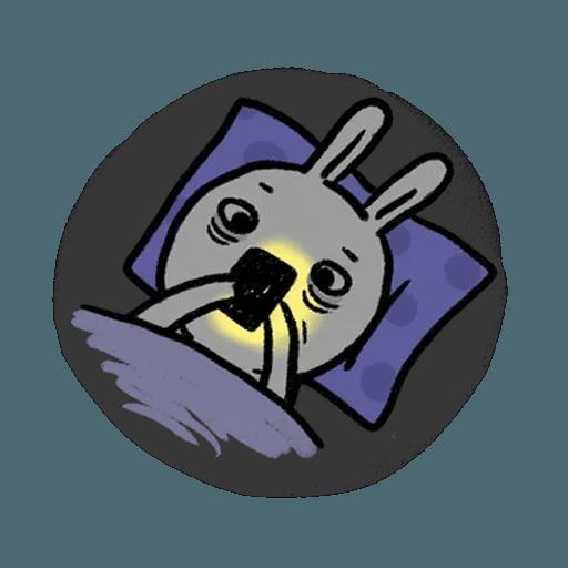 懶散兔4 - Sticker 2
