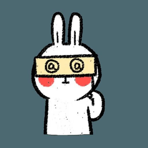 懶散兔4 - Sticker 13
