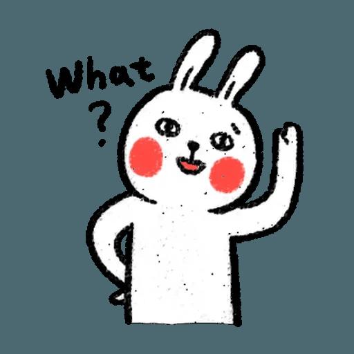懶散兔4 - Sticker 14